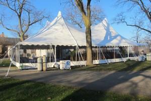50x70 Century Tent in November