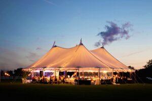 59x59 sailcloth tent