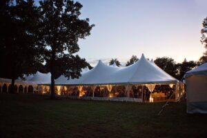 Century Tents wedding event