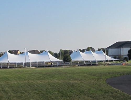 Century Tents at Church Event