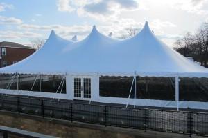 60x80 Century Tent with doors