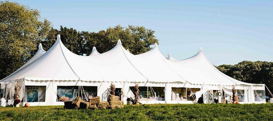 80x120 Century Tent Wedding