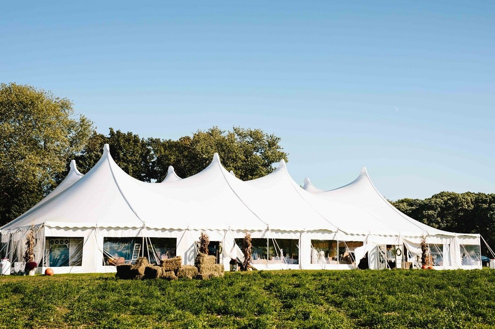 80x120 Century Tent Rental wedding
