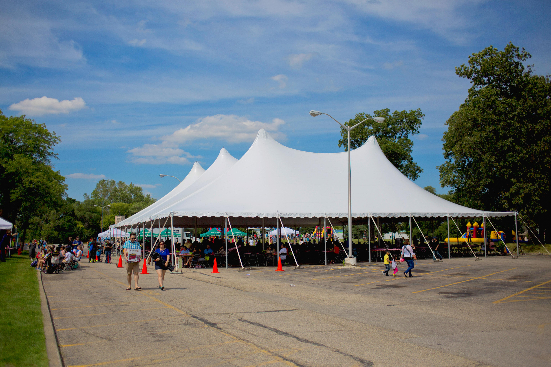 80×100 Festival Tent & 80×100 Festival Tent | Blue Peak Tents Inc.