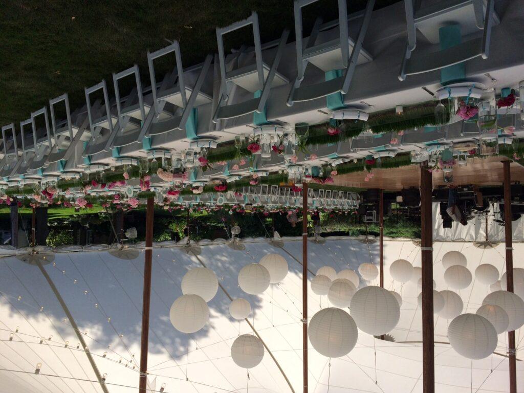 Beautiful Sailcloth Tent Wedding