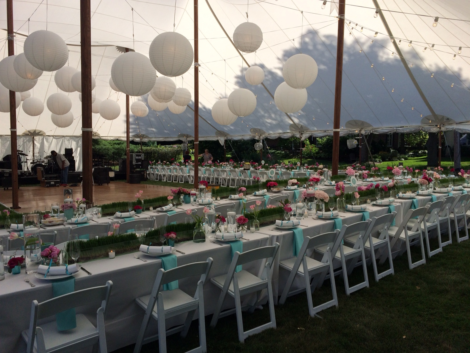 Beautiful Sailcloth Tent Wedding