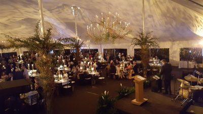 80x100 Tent Interior