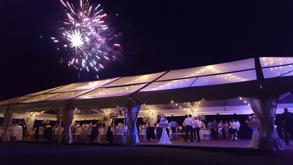 lake geneva wedding tent rental
