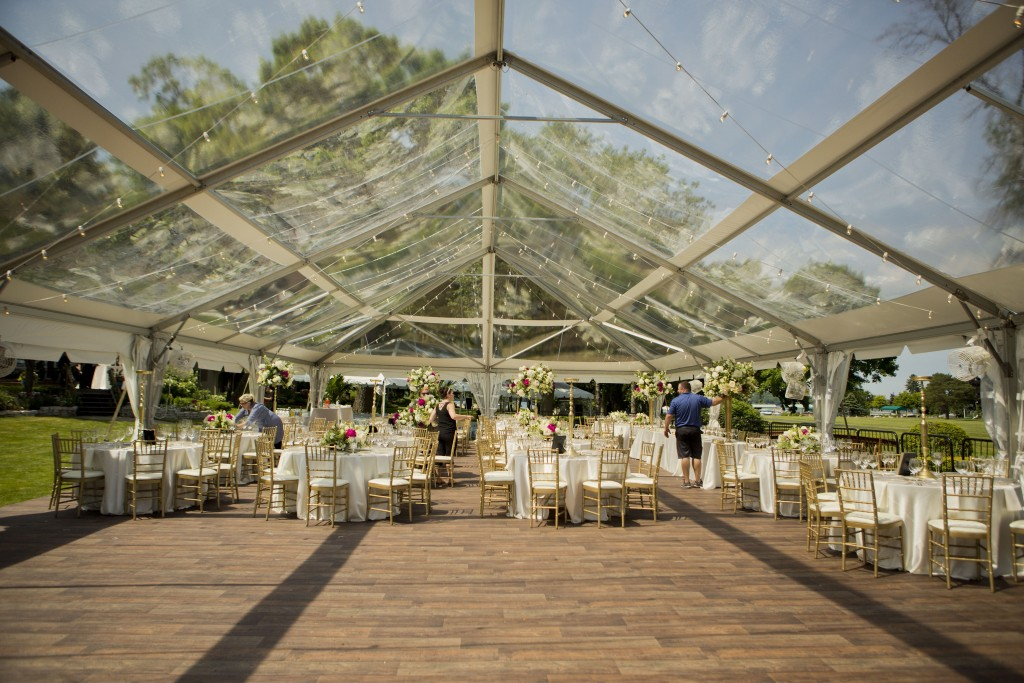 Barnwood Tent Flooring