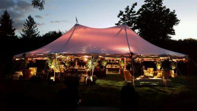 sailcloth cocktail tent