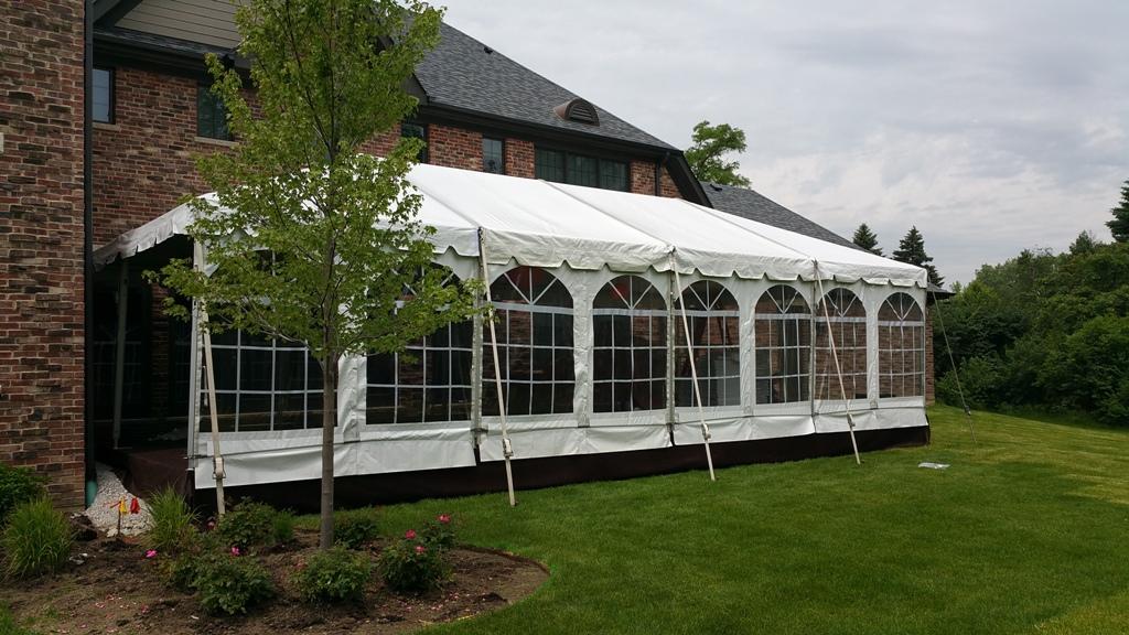 Navi Trac Frame Tent Rentals Blue Peak Tents Inc