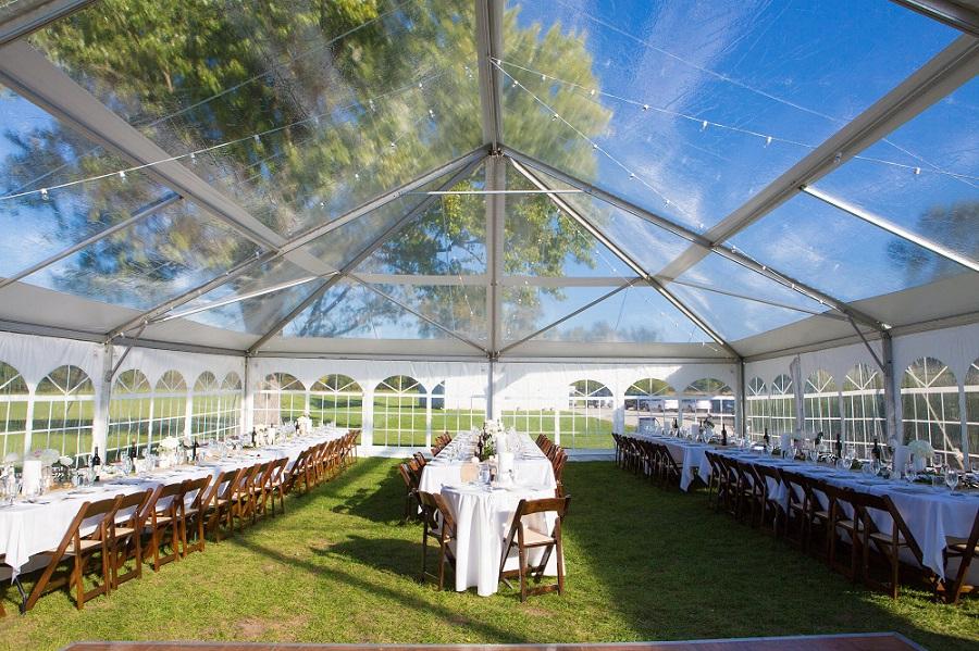 Tenting & Clear-Top Tents | Blue Peak Tents Inc.