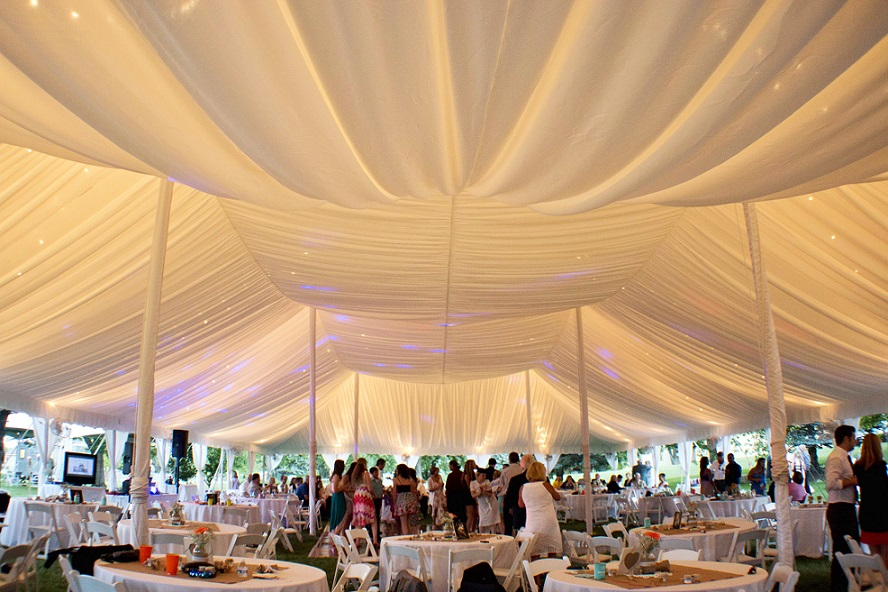 Fabric Ceiling Liners Blue Peak Tents Inc