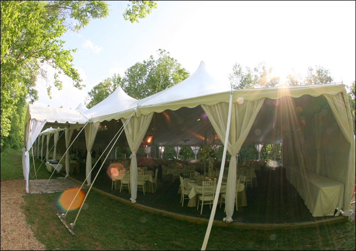 Tent Leg Draping Blue Peak Tents Inc