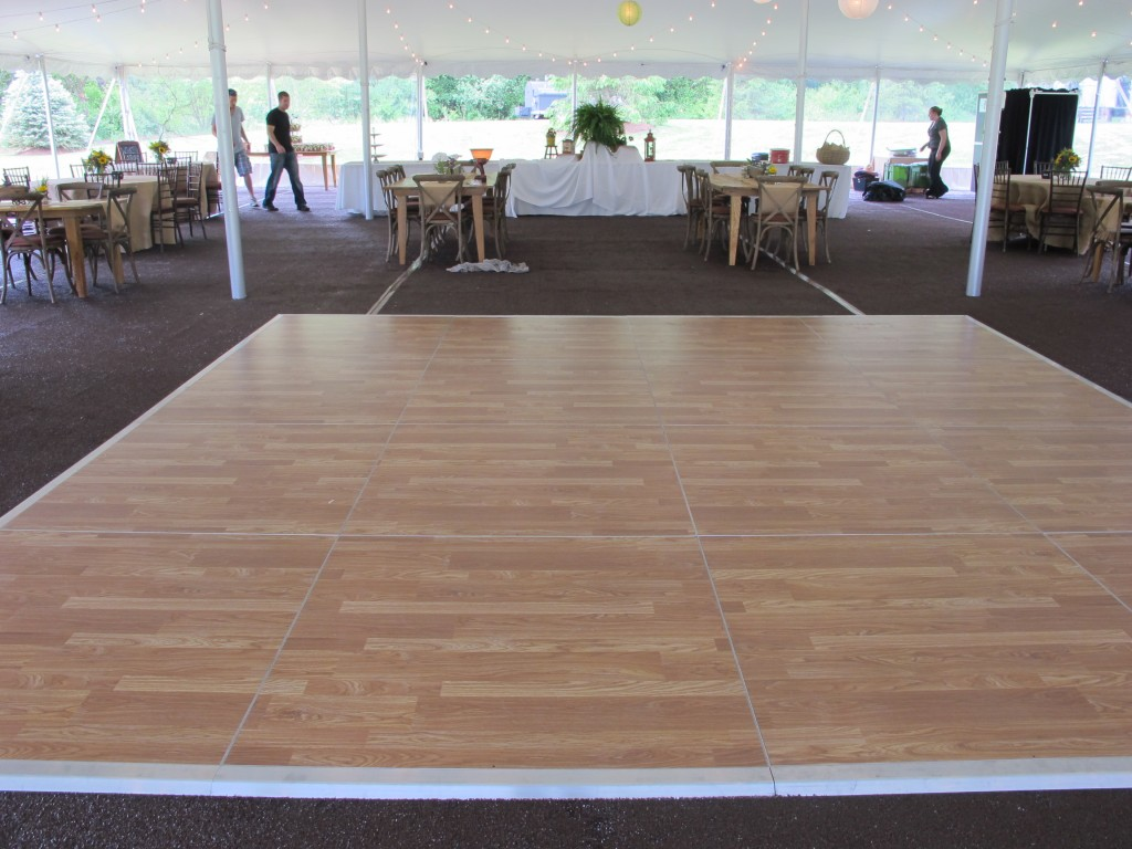 Flooring For Renters : Dance floor rental blue peak tents inc