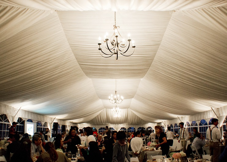 Tent Ceiling Liner Rental Blue Peak Tents Inc