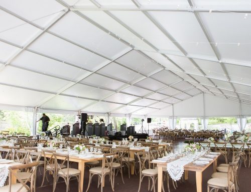 60×100 Clearspan Structure Wedding