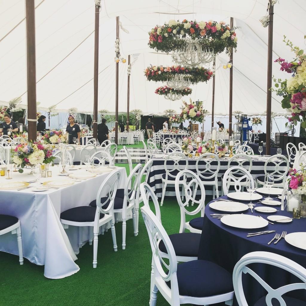 sailcloth wedding tent rental chicago