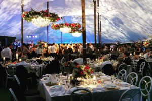 stunning sailcloth tent rental chicago