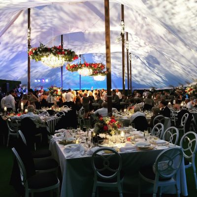 stunning sailcloth tent rental chicago