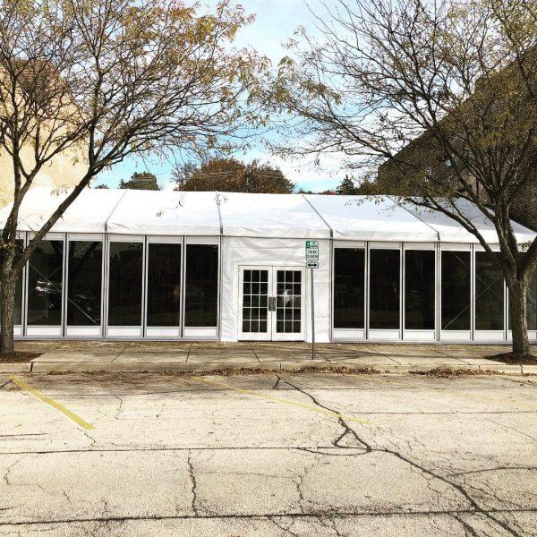 tent rental structure rental chicago