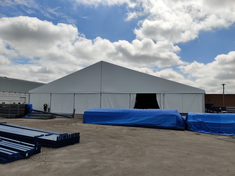 storage remodel tent rental