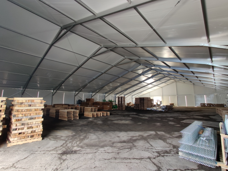 corporate storage tent