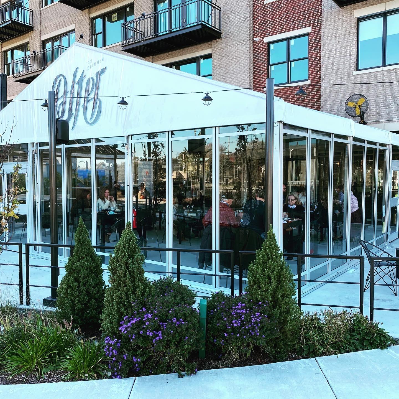 Winter Restaurant Tent Rental