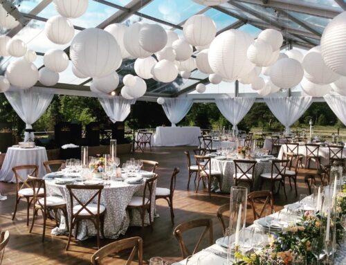 White Lantern Ceiling