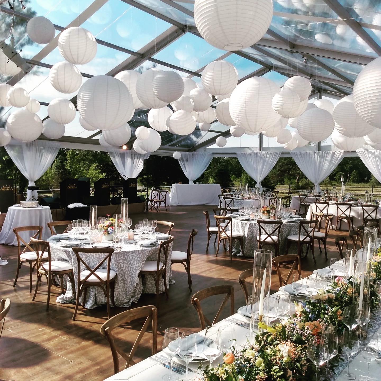 wedding tent structure rental chicago
